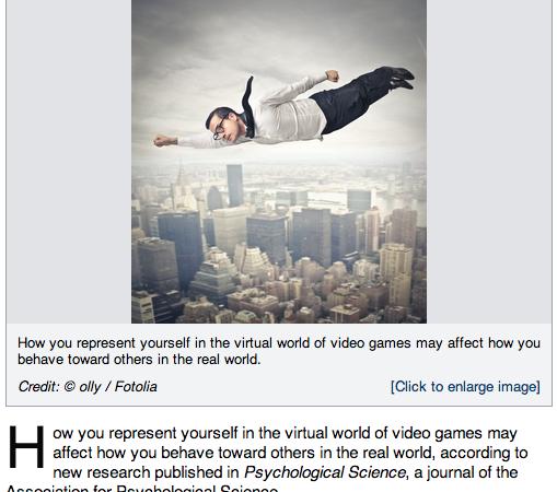 good vs evil avatars and media psychology