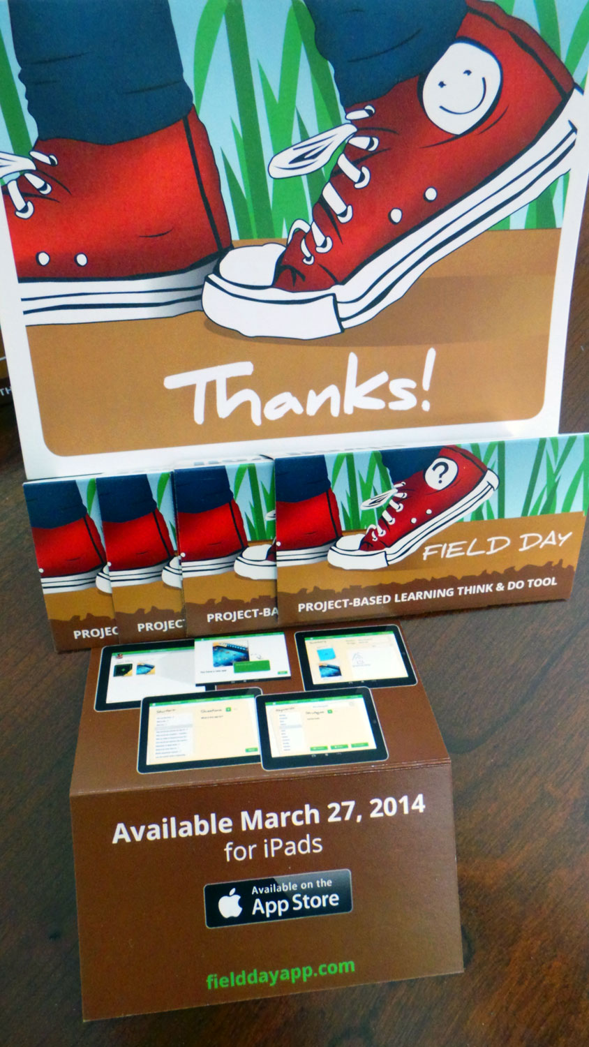 Field Day PBL education app for ipads releases March 27 2014